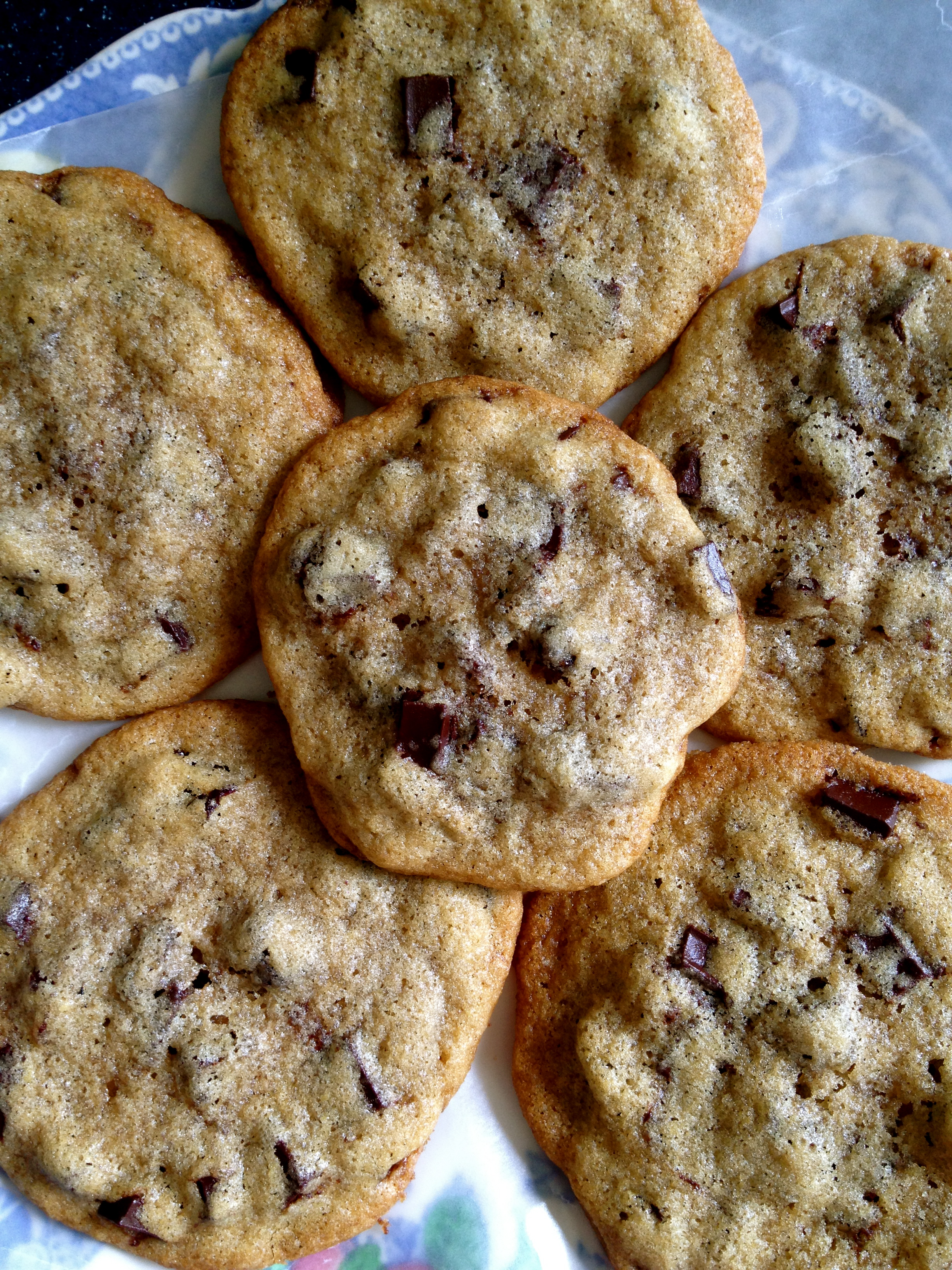 Chocolate Cherry Chunk Cookies: A Little Less Butter Now ...