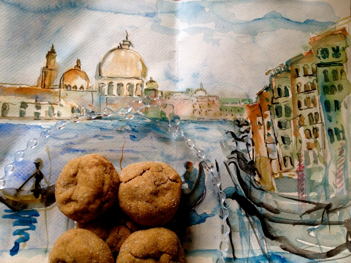 Eat your ginger cookies in Venice