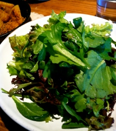 Simple Green Salad at Glen Ellen Star