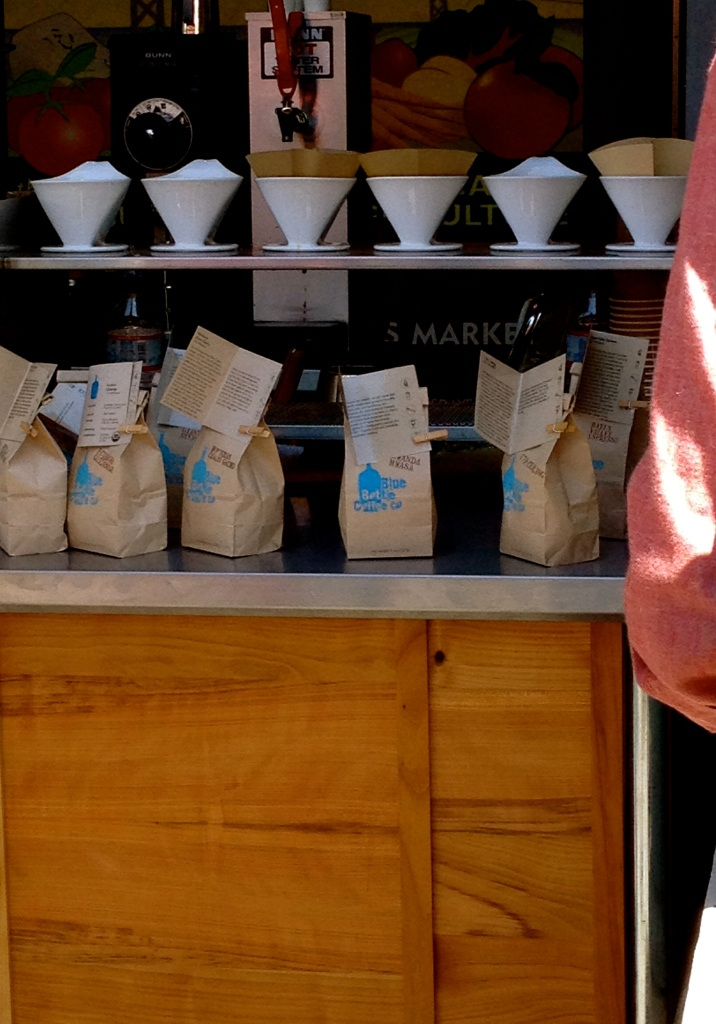 Some of the world's best coffee: Blue Bottle Coffee