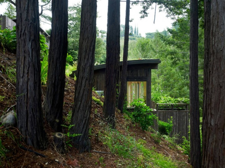 Cabin in the woods, courtesy of ArchDaily.com
