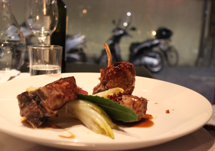 il santo lamb chop with fennel