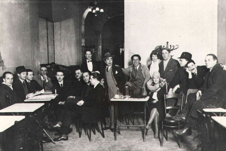 Giubbe Rosse Cafe in the 20th century. www.giovannicolacicchi.com