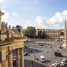 Piazza del Popolo view