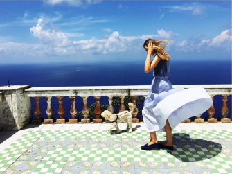 From Lorenzo's Instagram: taken in Capri