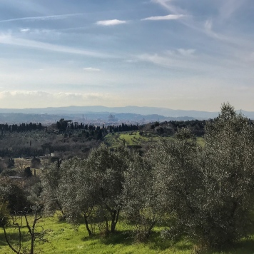 In the hills above Florence