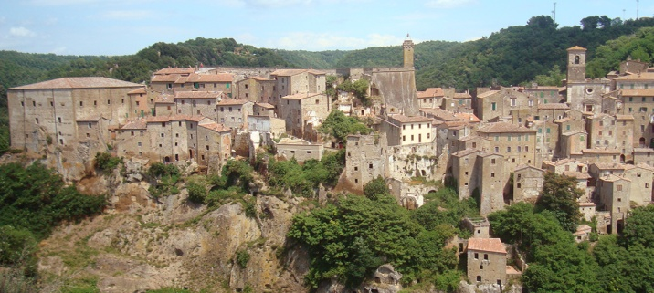 An Etruscan town in Maremma