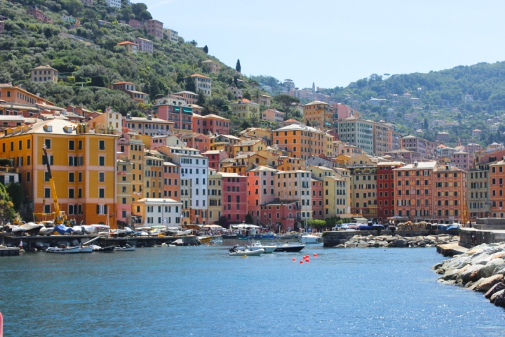 Camogli as seen from the sea
