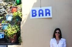 My sister in San Fruttuoso