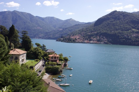 Villa hunting on Lake Como