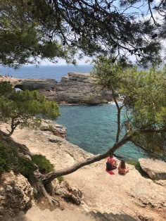 Rocky beaches of Mallorca