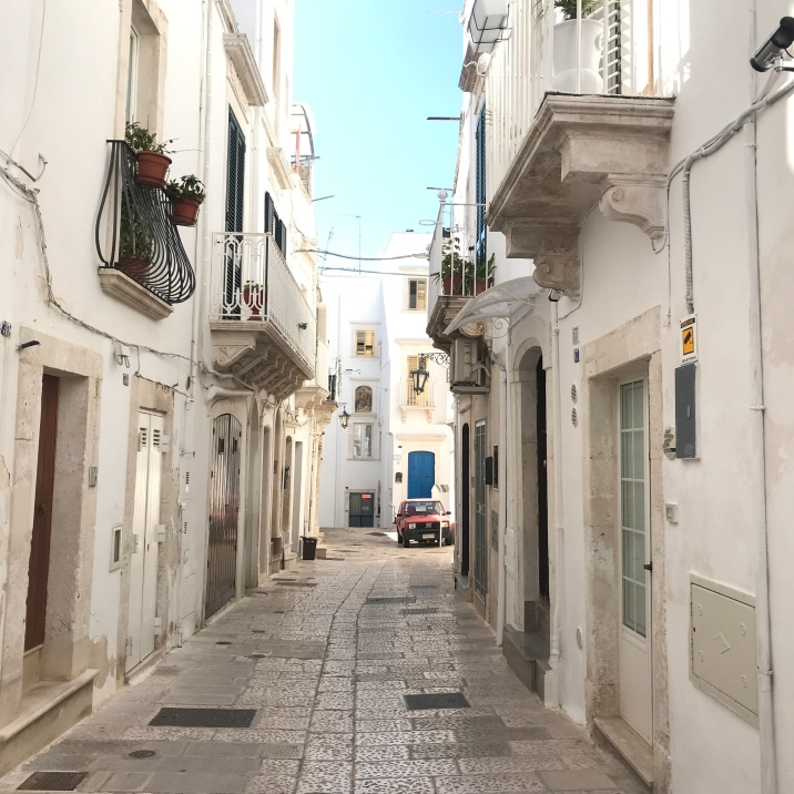 Whitewashed Martina Franca