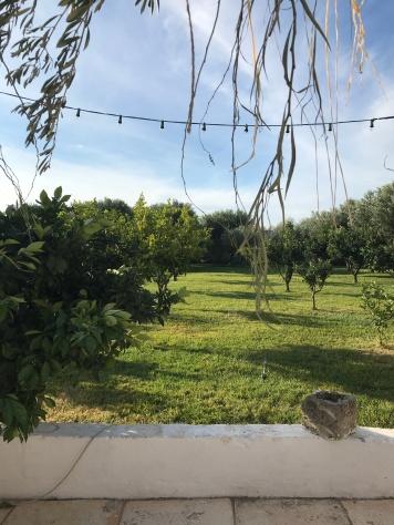 Breakfast view at Masseria Potenti