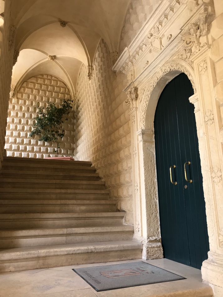 Baroque, arches, teel doors, gold accents... Lecce