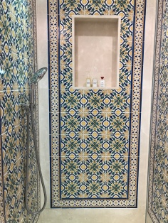 Spanish tiles galore at La Residencia