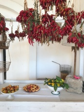 Fresh, seasonal fruit at Masseria Potenti