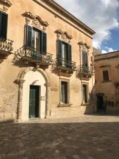 Baroque details in Lecce