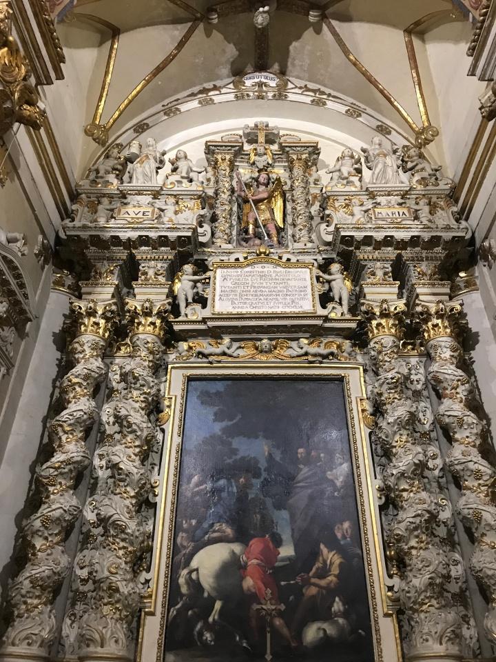Inside Lecce's Duomo